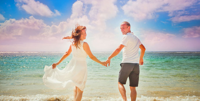 listening-to-romantic-music-on-beach